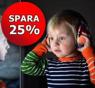 Hörselkåpor med eget tryck