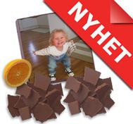Chokladbit med eget tryck
