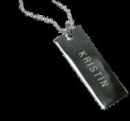 Halsband med egen gravyr