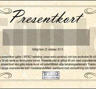 Presentkort (500kr)