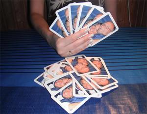 Kortlek, 52 kort med eget tryck